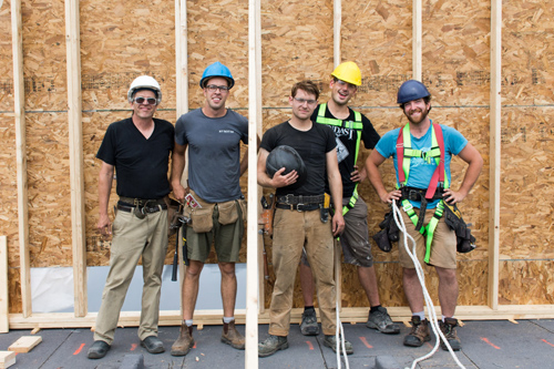 EAC Next Level - our fantastic crew from Tekton Design + Build