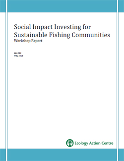 Social Impact Investing for Sustainable Fishing Communities